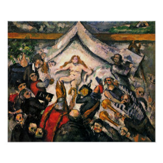 Paul Cezanne - The Eternal Feminine Poster