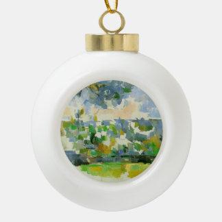 Paul Cezanne- The Garden at Les Lauves Ornament
