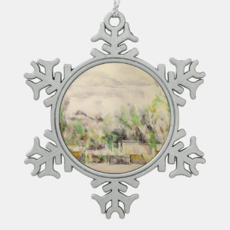 Paul Cezanne- The Garden Terrace at Les Lauves Ornaments