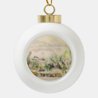 Paul Cezanne- The Garden Terrace at Les Lauves Ornament
