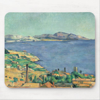 Paul Cezanne - The Gulf of Marseilles Mouse Pad