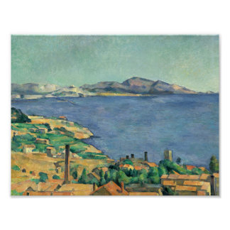 Paul Cezanne - The Gulf of Marseilles Poster