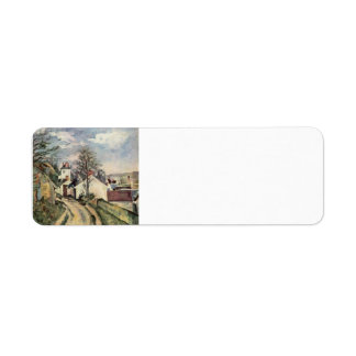 Paul Cezanne- The House of Dr. Gached in Auvers Return Address Labels