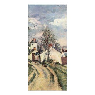 Paul Cezanne- The House of Dr. Gached in Auvers Custom Rack Cards