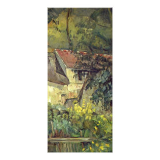 Paul Cezanne- The House of Pere Lacroix in Auvers Rack Cards
