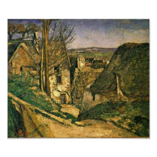 Paul Cezanne - The house of the hanged man Poster
