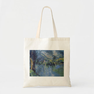 Paul Cezanne- The Lac d'Annecy Tote Bag