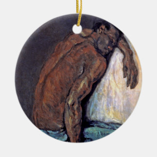Paul Cezanne - The Negro Scipio Fine Art Painting Ceramic Ornament