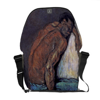 Paul Cezanne - The Negro Scipio Fine Art Painting Courier Bag