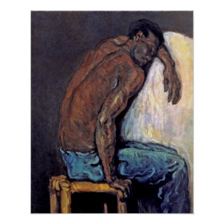 Paul Cezanne - The Negro Scipio Fine Art Painting Poster