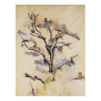 Paul Cezanne- The Oak Postcard