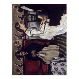 Paul Cezanne The Overture to Tannhauser: The Artis Postcard