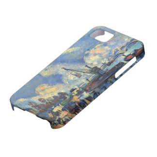 Paul Cezanne- The Seine at Bercy iPhone 5 Cases