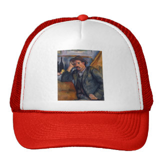 Paul Cezanne- The Smoker Trucker Hat