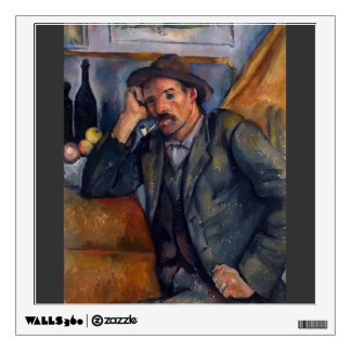 Paul Cezanne- The Smoker Wall Decals