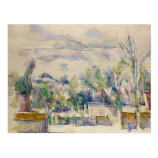 Paul Cezanne - The Terrace at the Garden Postcard