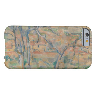 Paul Cezanne - Trær og hus, Provence Barely There iPhone 6 Case