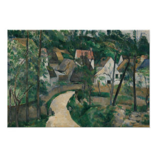 Paul Cezanne - Turn in the Road Poster