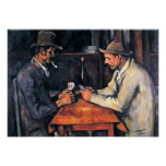 Paul Cezanne - Two card players Posters