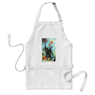 Paul Cezanne - Vase of Tulips Adult Apron