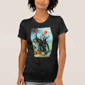 Paul Cezanne - Vase of Tulips T-Shirt