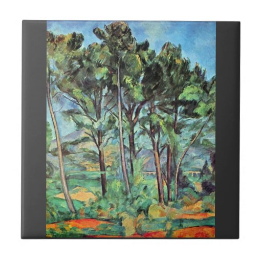 Paul Cezanne - Viaduct Tile