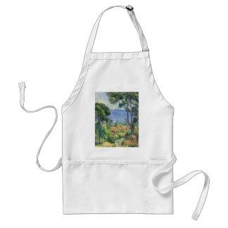 Paul Cezanne - View of L'Estaque and Chateaux d'If Adult Apron