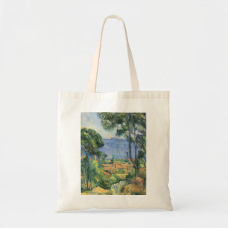 Paul Cezanne - View of L'Estaque and Chateaux d'If Tote Bag