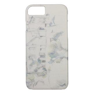 Paul Cezanne - View of the Chateau Noir iPhone 8/7 Case