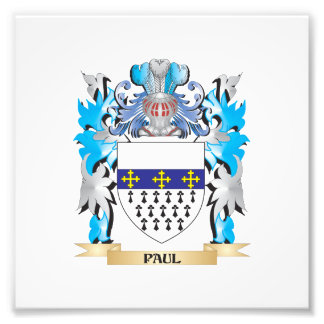 Paul Coat of Arms - Family Crest Photo Art