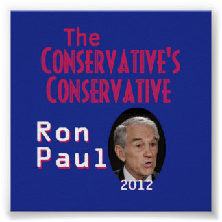 PAUL Conservatives POSTER Print