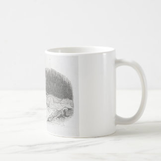 Paul de Kock. The Big City by Honore Daumier Coffee Mug