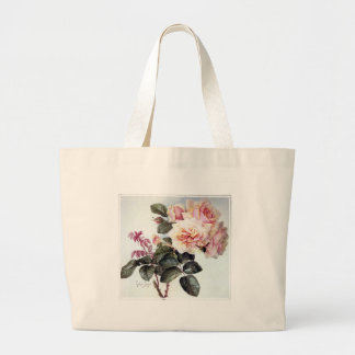 Paul de Longpre Roses Canvas Bags