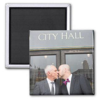 Paul + Don's Wedding Magnet