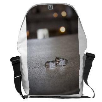 Paul + Don's Wedding Messenger Bag