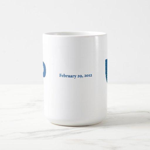 Paul Elliman 2012 Leap Year Commemorative Mug