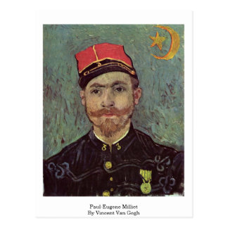 Paul-Eugene Milliet By Vincent Van Gogh Postcard