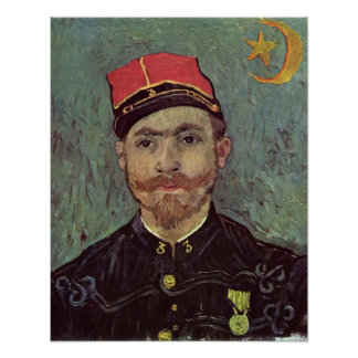 Paul-Eugene Milliet by Vincent Willem van Gogh Poster