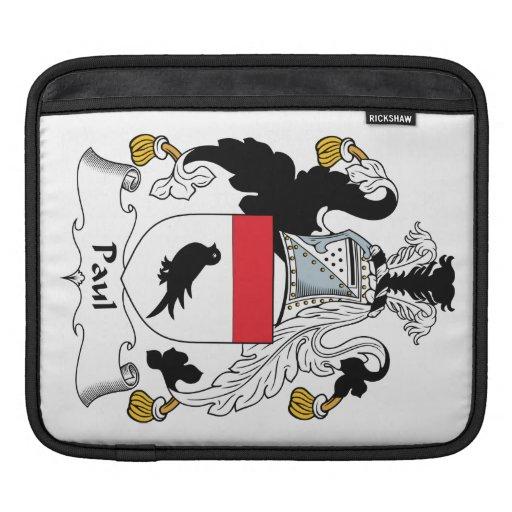 Paul Family Crest Sleeve For iPads