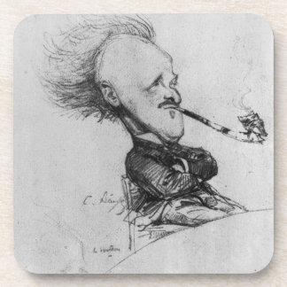 Paul Ferdinand Gachet (1862-1930) c.1887 (pencil o Drink Coaster