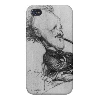 Paul Ferdinand Gachet (1862-1930) c.1887 (pencil o Cases For iPhone 4