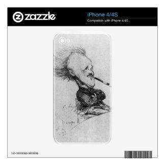 Paul Ferdinand Gachet (1862-1930) c.1887 (pencil o Skin For The iPhone 4