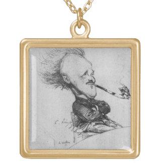 Paul Fernando Gachet (1862-1930) c.1887 (lápiz o Colgante Cuadrado