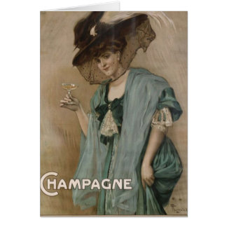 Paul Forestier Champagne  Add Greeting Card