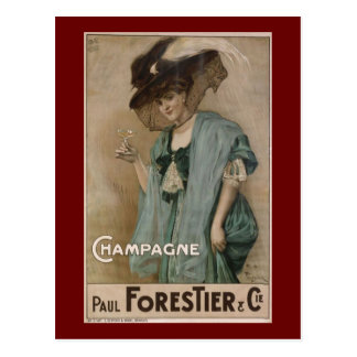Paul Forestier Champagne  Add Post Card