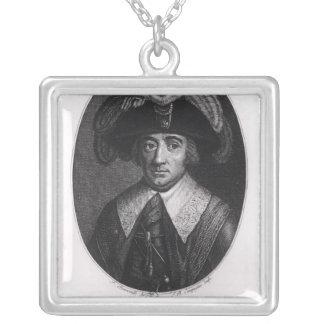 Paul Francois Jean Nicolas  Vicomte de Barras Silver Plated Necklace