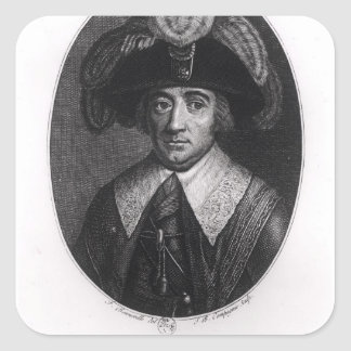 Paul Francois Jean Nicolas  Vicomte de Barras Square Sticker