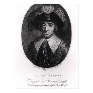 Paul Francois Jean Nicolás Vicomte de Barras Tarjeta Postal