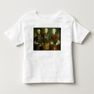 Paul, Frederick II and Gustav Adolph of Sweden T-shirts
