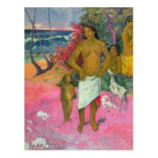 Paul Gauguin | A Walk by the Sea, 1902 Postcard
